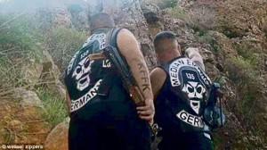 Members of German Median Empire Motorcycle Club now fighting against ISIS (Photo credit: Weasel Zippers)
