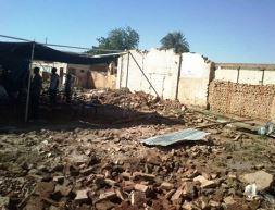 Bahri Presbyterian Evangelical Church, Khartoum after Sudanese government destruction (Photo Credit: World Watch Monitor)