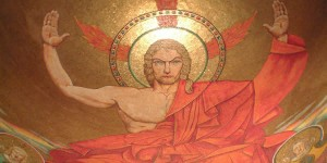 """Mosaic, """"Christ in Majesty,"""" Basilica of the National Shrine of the Immaculate Conception, Washington, DC"""
