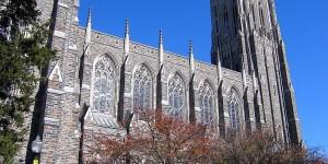 Duke University Chapel (Photo: Wikimedia Commons)