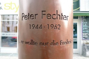 Peter Fechter Memorial (Photo credit: coldwarsites.net)